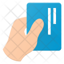 Business Card Hold Icon