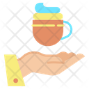 Give Coffee Icon