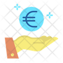 Mhand Coin Give Euro Euro Payment Icon