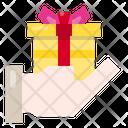 Gift Box Celebration Surprise Icon