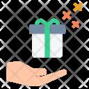 Gift Celebration Christmas Icon