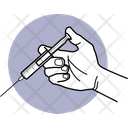 Give Injection Syringe Medicine Icon