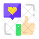 Like Give Like Heart Icon