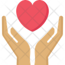 Give Love Heart Donation Icon