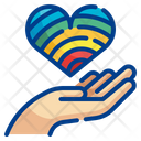 Give Love Love Care Heart Care Icon