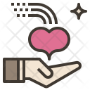 Give Love Charity Icon