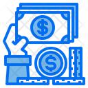 Hand Money Finance Icon