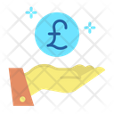 Mhand Money Give Pound Pound Payment Icon