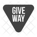 Give Way Traffic Icon