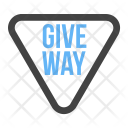 Giveway Give Way Icon