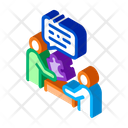 Human Giving Puzzle Icon