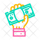 Giving Bribe Giving Bribe Icon
