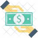 Payment Giving Cash Icon