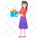 Giving Gift Present Gift Box Icon