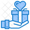 Giving Gift Icon