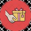 Giving Gift Christmas Gift Box Icon