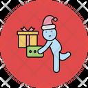 Boxs Christmas Gift Boxes Icon
