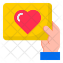 Giving Love Card Icon