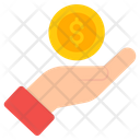 Investment Giving Money Donation Icon