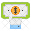 Giving Money Giving Cash Giving Payment Icon