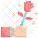 Giving Rose Icon