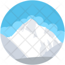 Glacier Ice Mountain Icon
