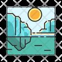 X Glacier Icon