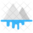 Glacier Snow Peak Snow Mountains Icon