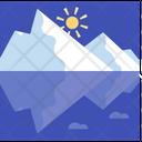 Glaciers Melting Icon