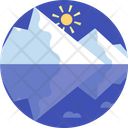 Glaciers Melting Ice Cubes Glacies Icon