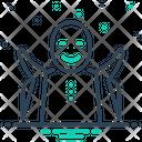 Glad Cheery Happy Icon