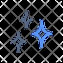 Glare Clean Star Icon