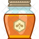 Glass Honey Natural Icon