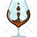 Glass Drink Filling Icon