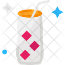 Glass Cold Drink Juice Icon
