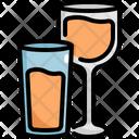 Glasses Wine Glass Icon