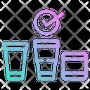 Glass Cold Storage Icon