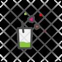 Glass Heart Love Icon