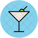 Glass Drink Lemonade Icon