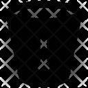 Glass Down Arrow Icon
