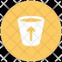 Glass Up Arrow Icon