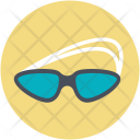Glass Swimming Safety Icon