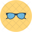 Glass Eyeglass Specs Icon
