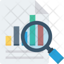 Glass Magnifying Report Icon