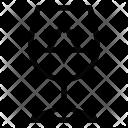 Glass Hanukkah Icon