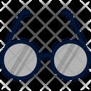 Education Flat Glass Icon