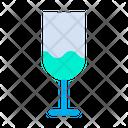 Cold Drink Soda Straw Icon