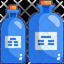 Glass Bottle Lab Bottle Liquid Bottle Icon