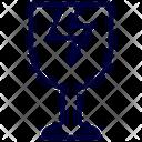 Glass Broken Icon