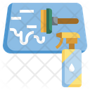 Glass Cleaner Glass Cleaning Icon